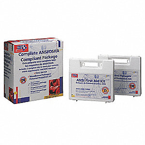 First Aid and BBP Kit,Bulk,139Pcs