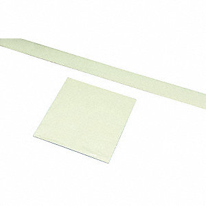 Door Marking Tape,Roll,4In W,4In L,PK10