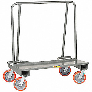 Drywall Truck, 2000 lb. Load Capacity, (4) Swivel Caster Wheel Type