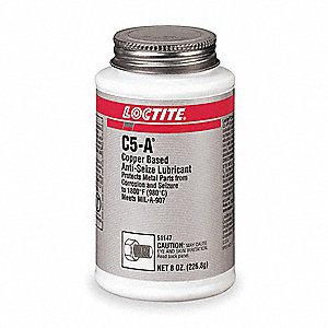 Anti Seize Compound,Copper,8-Oz. Can