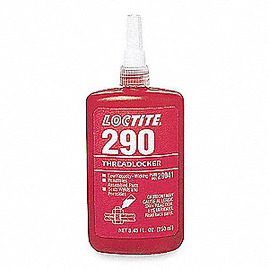 Threadlocker 290,10mL Bottle,Green