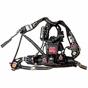 SCBA Backframe Assembly, Includes Kevlar® Harness, Belt, E-Z Flo® with Quick Check Regulator, Dual E