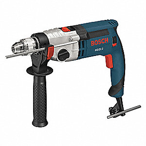 Hammer Drill Kit,1/2 In,9.2 A,