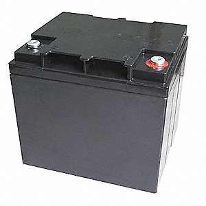 ABS Battery, Voltage 12, Battery Capacity 38Ah, Threaded Receptacle Terminal Type
