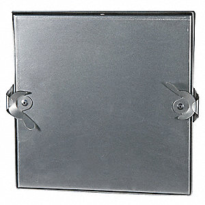 Insulated Access Door,12 In,Square,Steel
