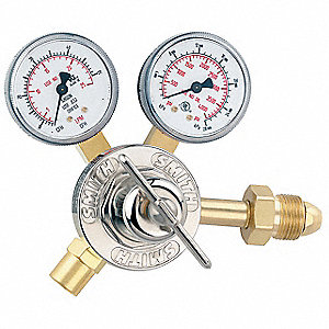 "30 Series Flow Gauge Regulator, 50 cfh, 2.000"", Argon"