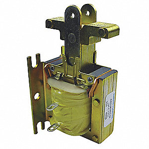 "Solenoid, 120AC Coil Volts, Stroke Range: 1/8 to 1"", Duty Cycle: Continuous"