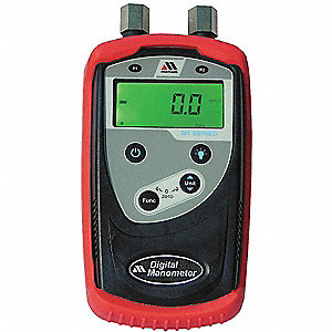 Digital Manometer.0 to 50 PSIG.+/-0.25