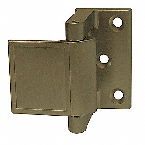 Pemko Hotel Security Latch Satin Chrome Nickel Length 1