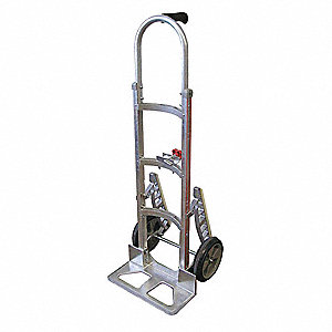 Modular Hand Truck, Single Grip, 600 lb. Overall Height 52""