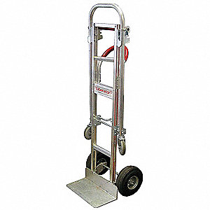 Convertible Hand Truck, Continuous Loop, 600 lb., Overall Height 61-1/2""
