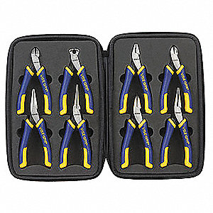 Precision Pliers Set, Handle Type: Ergonomic, Number of Pieces: 8