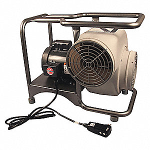 Centrifugal Confined Space Blower, 1/3 And 3/4 HP, 115VAC Voltage, 1300/1725 rpm Blower/Fan Speed