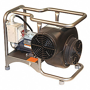Centrifugal Explosion Proof Confined Space Blower, 3/4 HP, 115VAC Voltage