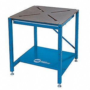Welding Platen Table MILLER ELECTRIC Welding Station, 29x29 In,Dust Tray - 5FYE0|951168 ...
