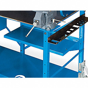 Upper Shelf,27 W x 15 D x 6 in. H,Blue