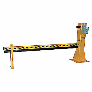 Dock Barricade, Elec Hydraulic,130 In