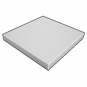 Foam Sheet,AntiStatic Poly,1/2x36x36