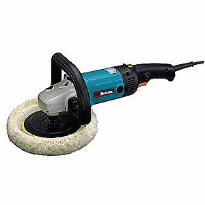 R/A Polisher,7 In,RPM 600-3000,10 A,120V