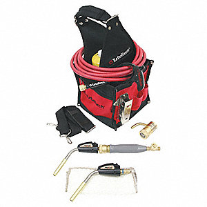 PL-DLXPT Air Propane/MAPP Kit, MAP-Pro/Propane Fuel, Self Igniting Ignitor