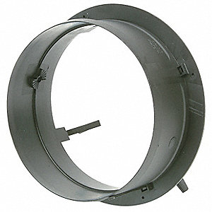 Duct Start/Take Off Collar,8 In Duct Dia