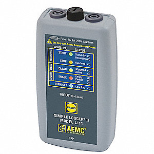 AC Current Logger,1 Channel,Banana Plug