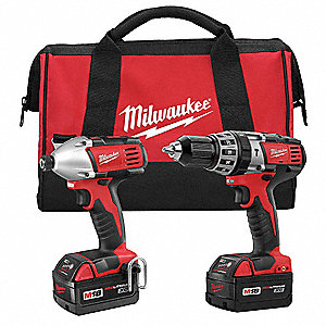 Cordless Combination Kit, Voltage 18.0 Li-Ion, Number of Tools 2