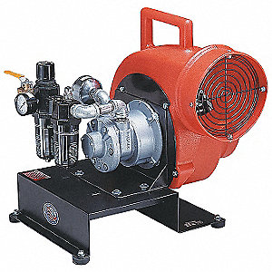 Confined Space Blower,1/4 HP