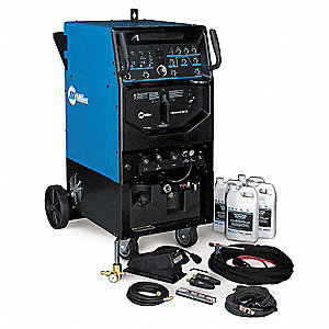 TIG Welder, Syncrowave 350 LX Complete Package Series, Input Voltage: 230/460/575VAC, TIG, Pulsed TI