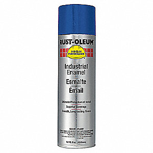 Safety Blue Rust Preventative Spray Paint, Gloss Finish, 15 oz.
