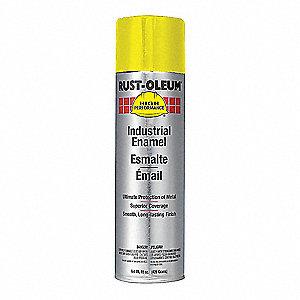 Rust Oleum Spray Paint Safety Yellow 15 Oz 5h898 V2143838 Grainger