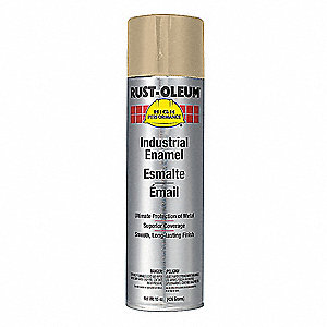 Tan Rust Preventative Spray Paint, Gloss Finish, 15 oz.