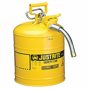 Type II Safety Can,17-1/2 In. H,Yellow