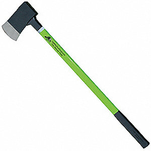 Axe,Lime Fiberglass,36in Handle