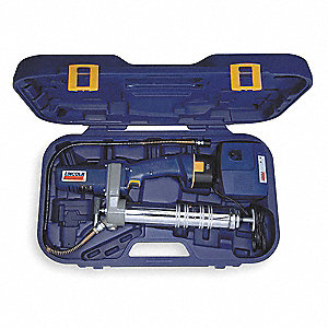Cordless Grease Gun, Voltage 12.0 NiCad, Battery Included, Cartridge Capacity 14-1/2 oz.