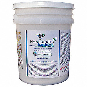 Clear Thermal Insulation Coating, Matte Finish, 750 sq. ft./gal. Coverage, Size: 5 gal.