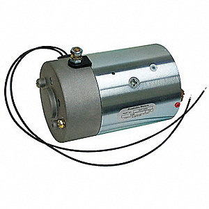 "2 Wound Field DC Wound Field Motor,CCWSE Rotation,7-7/16"" Overall Length"