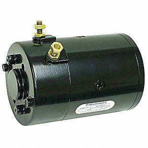 "1-3/5 Wound Field DC Wound Field Motor,CWSE Rotation,6-5/16"" Overall Length"