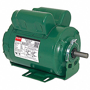 1/2 HP Poultry Fan Motor,Capacitor-Start/Run,1725 Nameplate RPM,115/208-230 Voltage,Frame 56