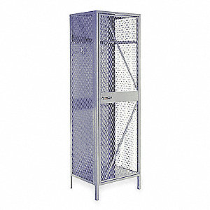 Starter Bulk Storage Locker,1 Tier,Steel