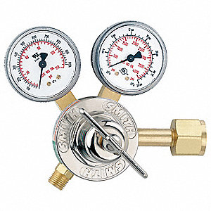 "30 Series Gas Regulator, 100 psi, 2.000"", Oxygen"