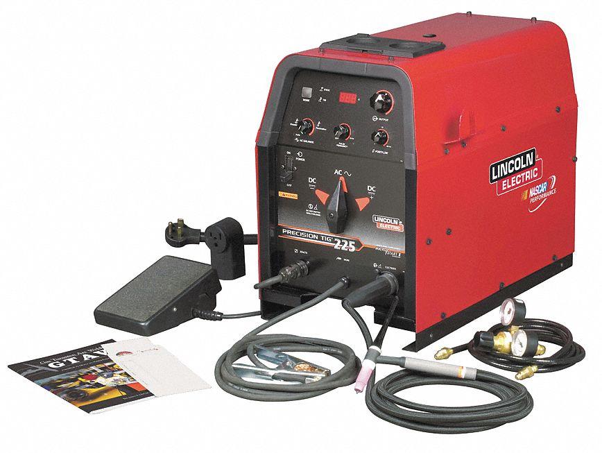 Lincoln electric tig welder precision tig 225 208 230vac for Lincoln electric motors catalog