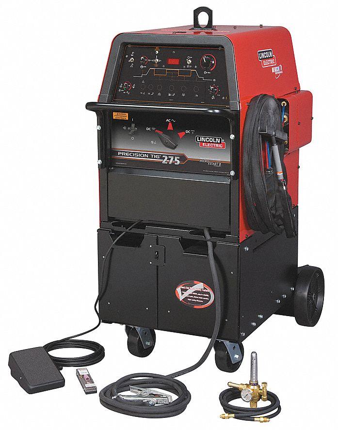 Lincoln electric tig welder precision tig 275 ready pak for Lincoln electric motors catalog