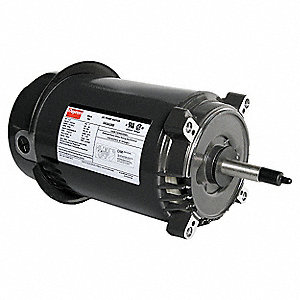 1 HP Jet Pump Motor, Capacitor-Start, 3450 Nameplate RPM, 115/230 Voltage, 56J Frame