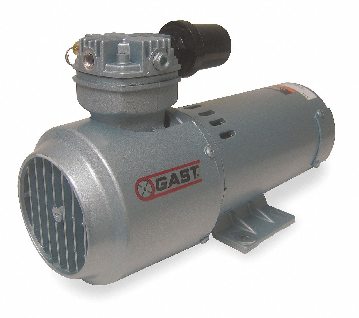 Gast 1 3 hp piston air compressor 12vdc 100 100 max psi for Gast air motor distributors
