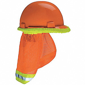 Sun Shade, Provides Shade, Nylon, Orange