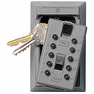 Kidde Lock Box Push Button 5 Key Capacity Mounting Type