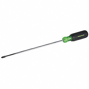 Screwdriver,Phillips,#2x10 In,Round