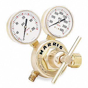"425 Series Gas Regulator, 0 to 125 psi, 2.75"", Oxygen"