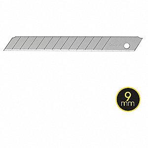 Snap-off Utility Blade,9mm W, PK10